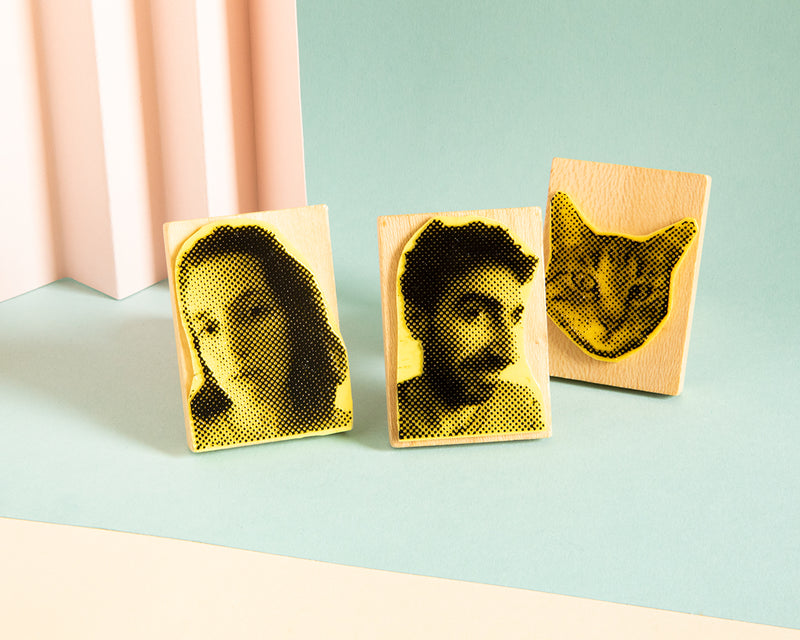 Sello Retrato - Family Pack