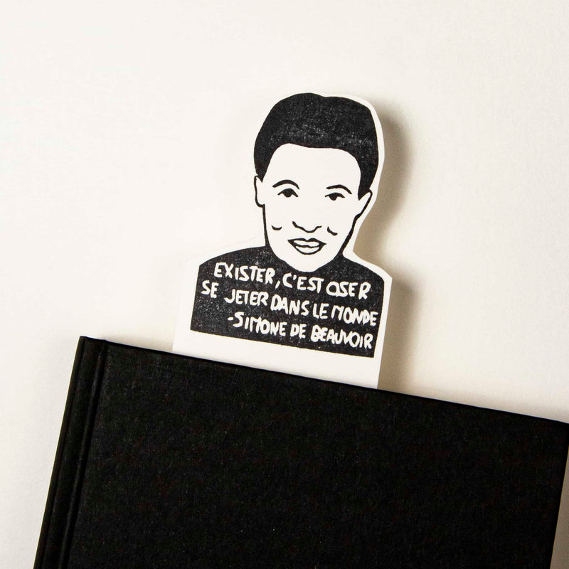 simone de beauvoir bookmark