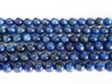 6mm Blue Kyanite Round Beads