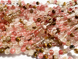 8mm Mixed Colour Cherry Quartz
