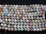 8mm Morganite Round Beads