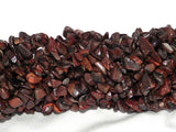 Red Tiger Eye Chip Beads - 5x8mm