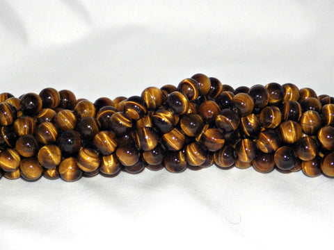Tiger Eye Beads - 4mm - AA Grade