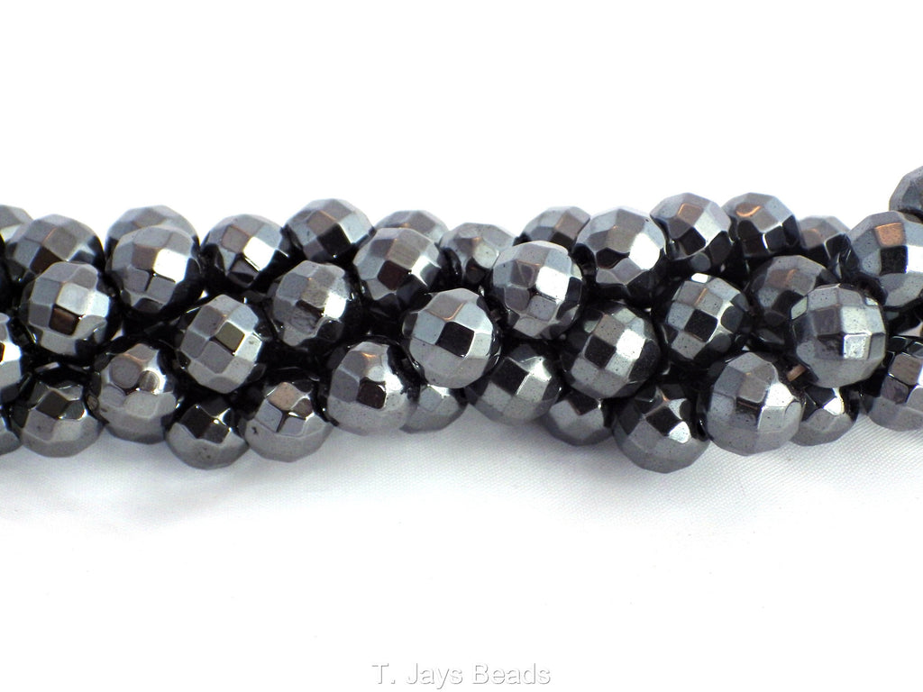 loose rainbow beads gemstone hematite round p inch