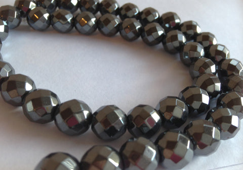 loose sold beads round inch diy per approx natural necklace item hematite bracelet stone strand for size different choice