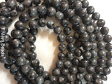 Larvikite Beads - 6mm