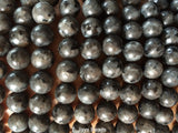 Larvikite Beads - 8mm