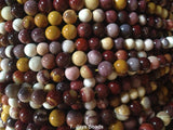 Mookaite Beads - 6mm