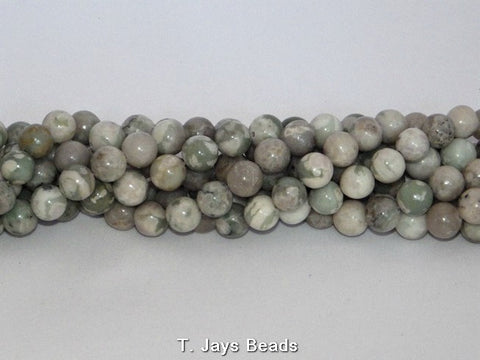 Peace Jade Round Beads - 10mm