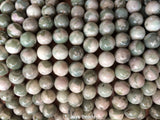 Peace Jade Round Beads - 8mm