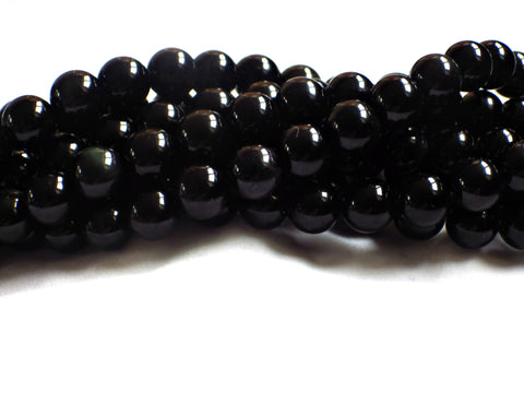 6mm Rainbow Obsidian Round Beads