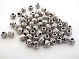 100 x Small Round Spacer Metal Beads