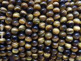Tiger Eye Beads - 8mm - AA Grade