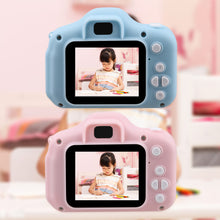 Load image into Gallery viewer, Kids Mini Camera Toy Cute Camcorder Rechargeable Digital Camera with 2 Inch Display Screen Children Educational Toy Outdoor Play