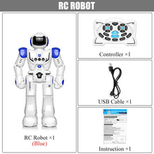Load image into Gallery viewer, DODOELEPHANT Robot USB Charging Dancing Gesture Action Figure Toy Robot Control RC Robot Toy for Boys Children Birthday Gift