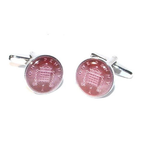 Penny Coin Cufflinks
