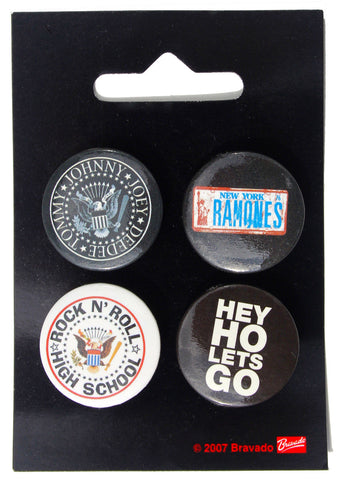 Ramones Button Badge Pack