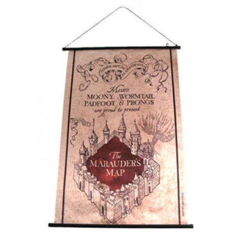 Harry Potter Wall Scroll Marauder´s Map 60 x 80 cm
