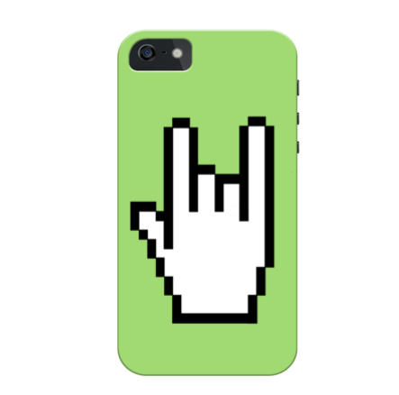 Horns Up Cursor iPhone Case