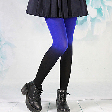 Black & Blue Stockings