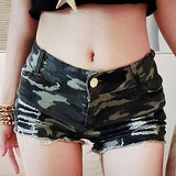 Camouflage Hot Pants