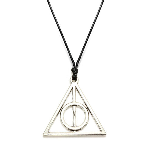 Silver Plated Sign of the Deathly Hallows