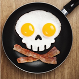 Fried Egg Skull Mould