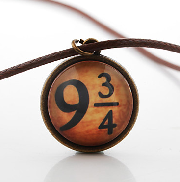 Harry Potter 9 & 3/4 Necklace