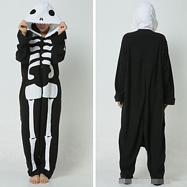 Polar Bear Skeleton Onesie