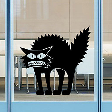 Shocked Cat Window/Wall Sticker