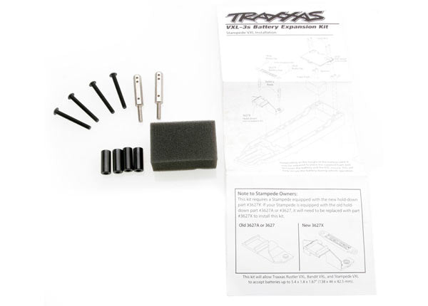 3725X  Traxxas Slash Rustler Stamp Battery Expansion Kit