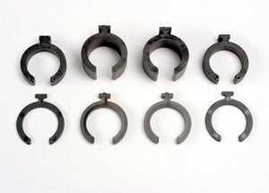 3769 Traxxas Spring pre-load spacers: 1mm (4)/ 2mm (2)/ 4mm (2)/ 8mm (2)