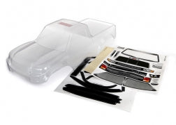 8111 Body, TRX-4® Sport (clear, trimmed, requires painting)/ window masks/ decal sheet