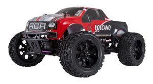 Volcano EPX red - Redcat Volcano EPX 1/10 Scale Brushed Monster Truck