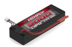 HX-500025c-BV2 LIPO Battery , 5000mAh 25c 7.4V ***MUST USE A LIPO SPECIFIC CHARGER***