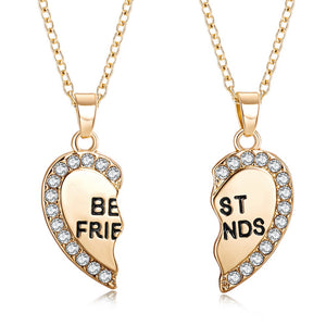 Best Friend Heart Pendant