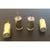 9 mm Spent Brass Push Pins, 4 ct