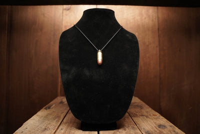 Spent Brass Bullet Necklace