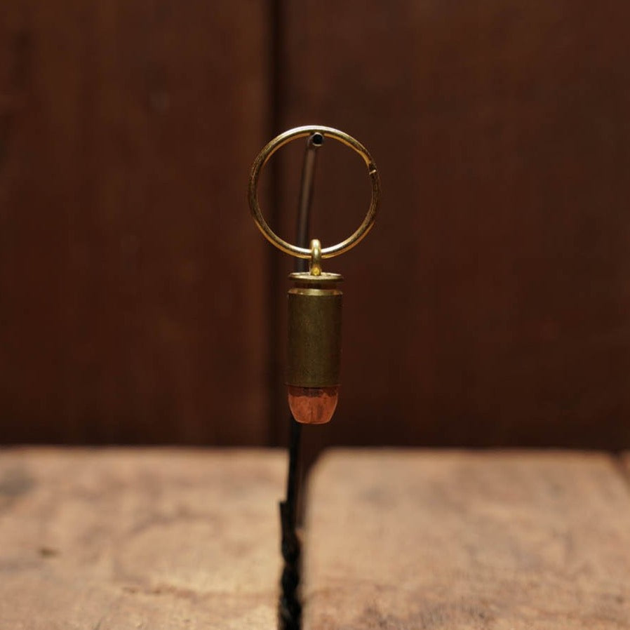 40 Spent Brass Bullet Keychain, 5 ct