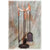 Standard Whitetail Antler Fireplace Set