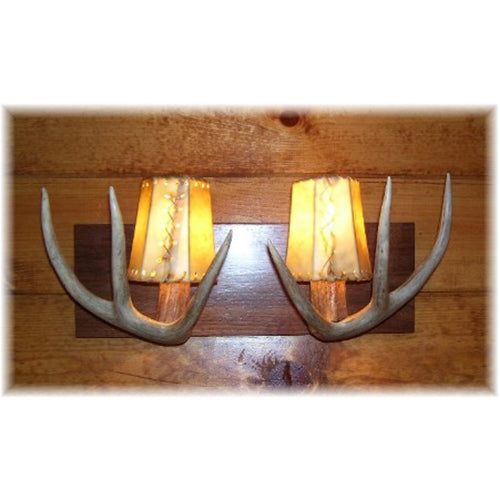 Deer Antler Vanity Light - 2 Light