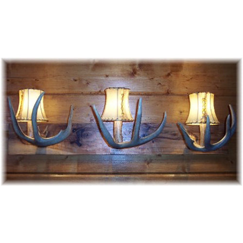 Deer Antler Vanity Light - 3 Light