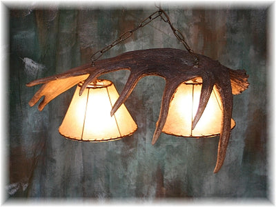 Moose Antler Pool Table/Bar Light
