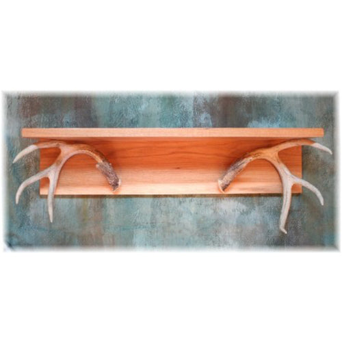 "26"" Deer Antler Wall Shelf"