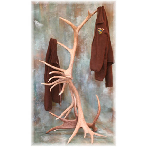 Medium Elk Antler Coat Rack/Hall Tree