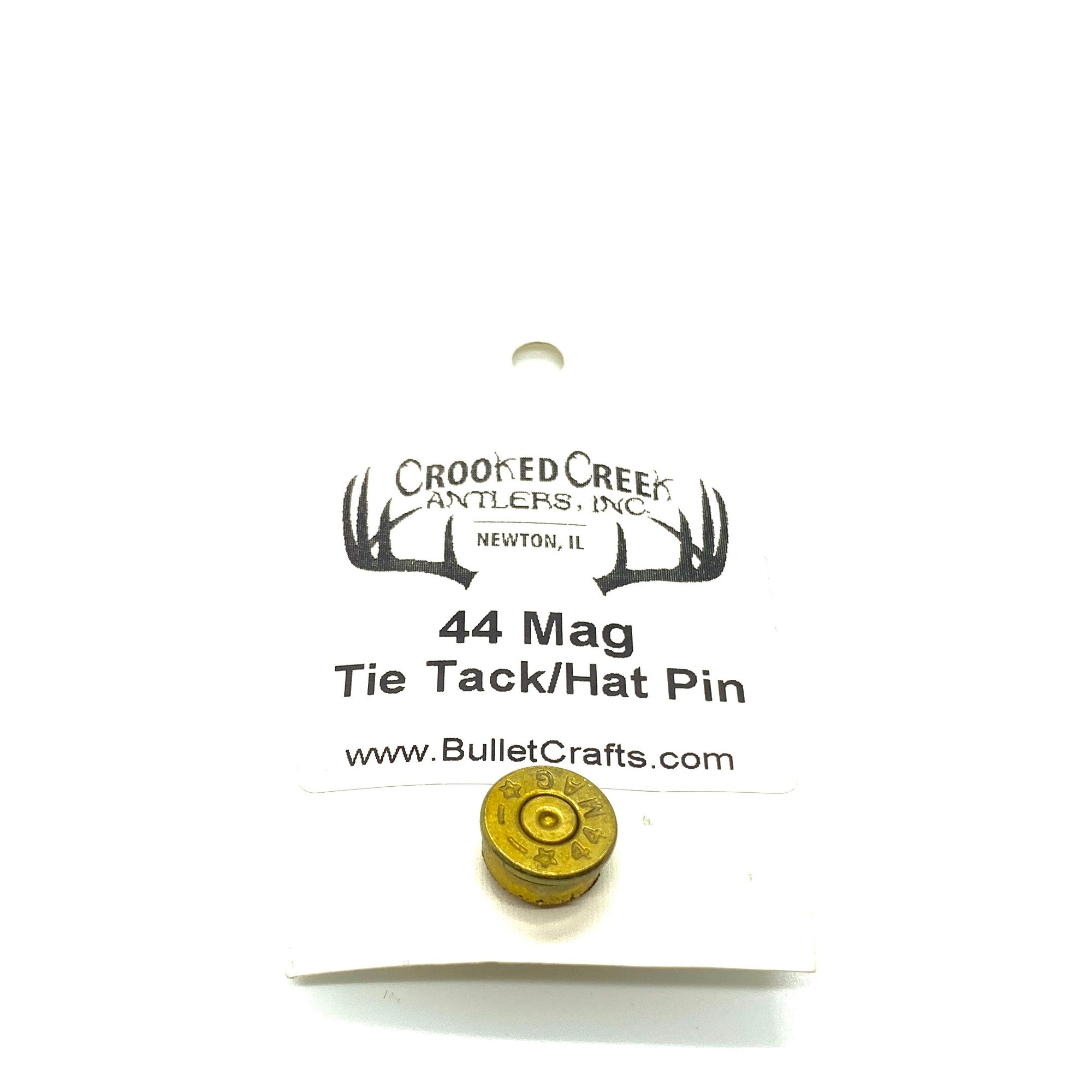 Spent Brass Bullet Hat Pin/Tie Tack