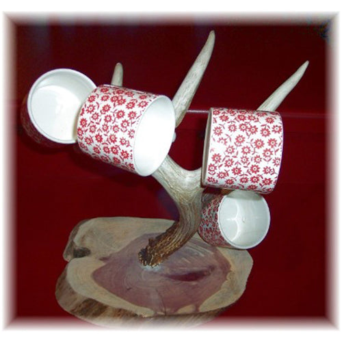 Upright Whitetail Mug Tree
