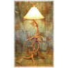 Medium Elk Antler Floor Lamp
