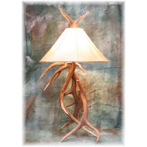 Elk Antler Table Lamp
