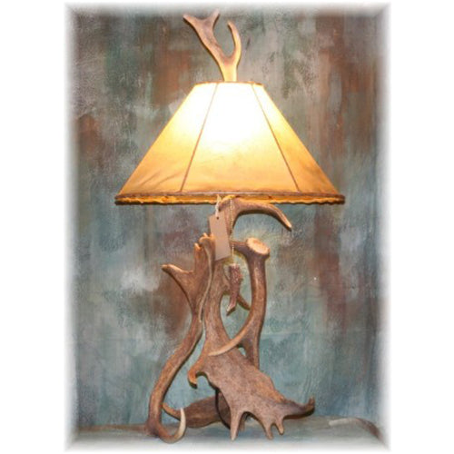 Fallow Deer Antler Table Lamp